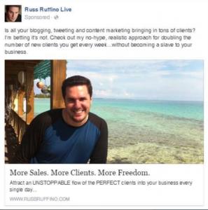 Russ Ruffino Ad