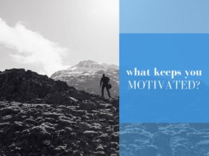 what keeps you motivated Russ Ruffino