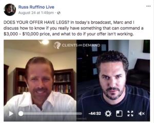 Russ Ruffino Live